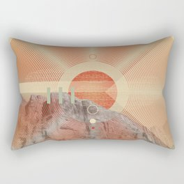 Not knowing when the dawn will come #everyweek 49.2016 Rectangular Pillow