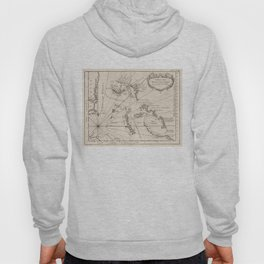 Vintage Map of The Bahamas (1764) Hoody