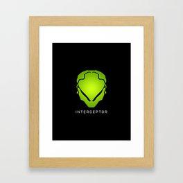 Interceptor Avatar Framed Art Print