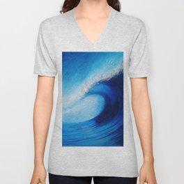 Big Blue Unisex V-Neck