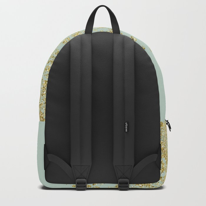 Golden ombre - icy mint Backpack