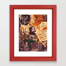 Fleet Foxes Poster Framed Art Print