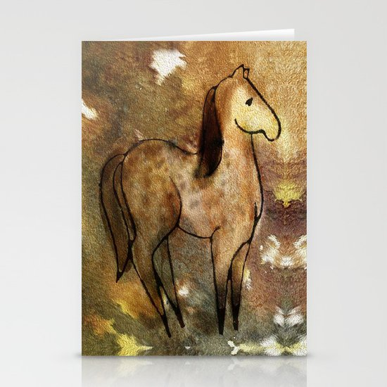 Spotted Horse Stationery Cards