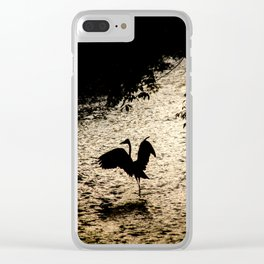 Japan Heron Clear iPhone Case