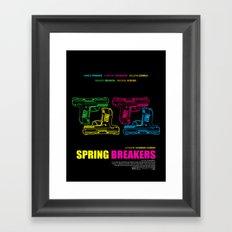 Spring Breakers Framed Art Print