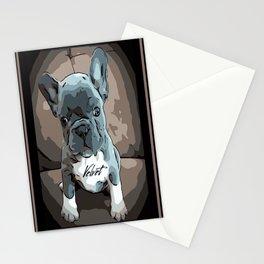 Swiss Velvet portrait Stationery Cards