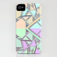 Aztec print illustration Slim Case iPhone (4, 4s)