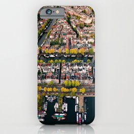 Amsterdam Houseboats & Canals iPhone Case