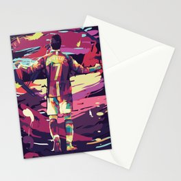 Cristiano on WPAP Pop Art Stationery Cards