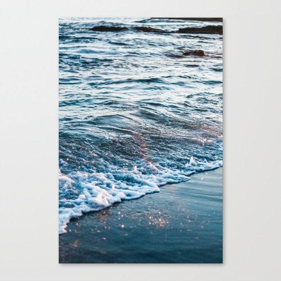 Beautiful ocean waves Canvas Print