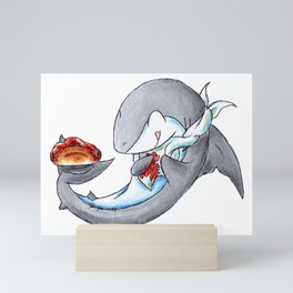 Lobstah Roll Lunch Mini Art Print