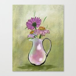 In the Pinks of Flowers Canvas Print