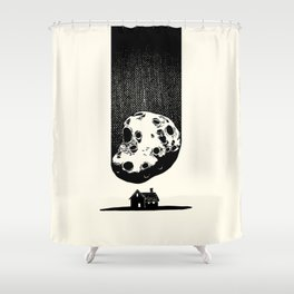 Trouble At Home Shower Curtain