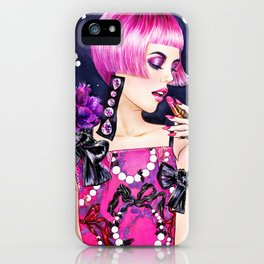 Lipstick Lover iPhone Case