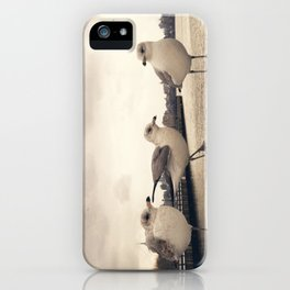 One legged friend - Hoboken, NJ iPhone Case
