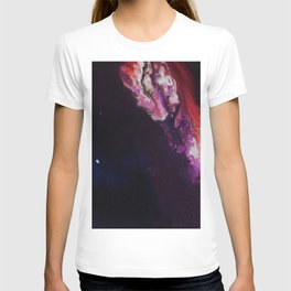 The Exotic. From my Original Painting. Abstract, Space, Blue, Jodilynpaintings T-shirt