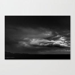 STORM BREWING Canvas Print