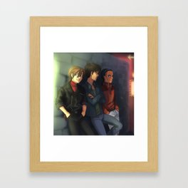 Gundam Boys Framed Art Print