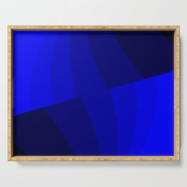 Just Blue #decor #society6 Serving Tray