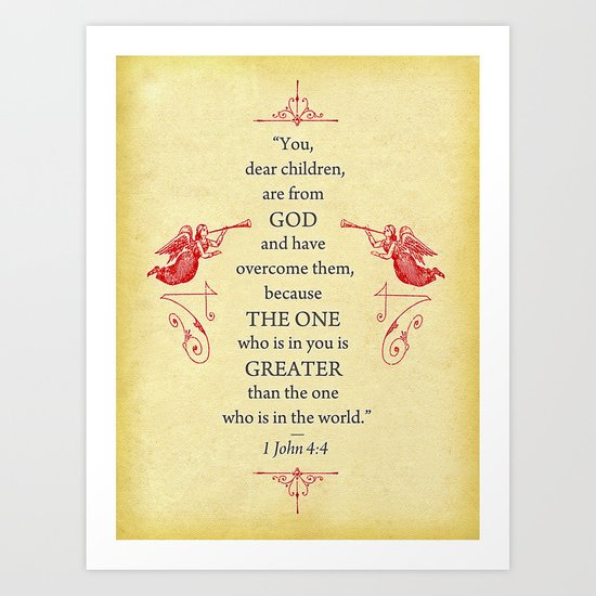 Greater Art Print