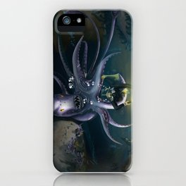 The Depths of the Ocean iPhone Case