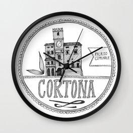 Palazzo Comunale, Cortona Wall Clock