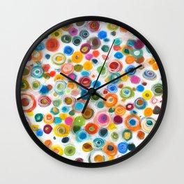 Positive Vibrations Wall Clock