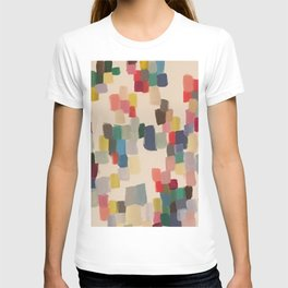 Colorful happy cheerful abstract painting T-shirt