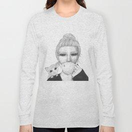 Space tea Long Sleeve T-shirt