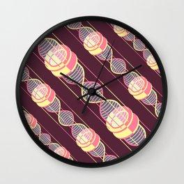 power time gravity love pattern Wall Clock