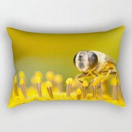 Pollen Feast Rectangular Pillow