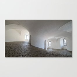 In a White Room Canvas Print