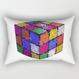The color cube Rectangular Pillow