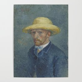 Portrait of Theo van Gogh Poster