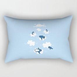 Puzzle Ice  Rectangular Pillow