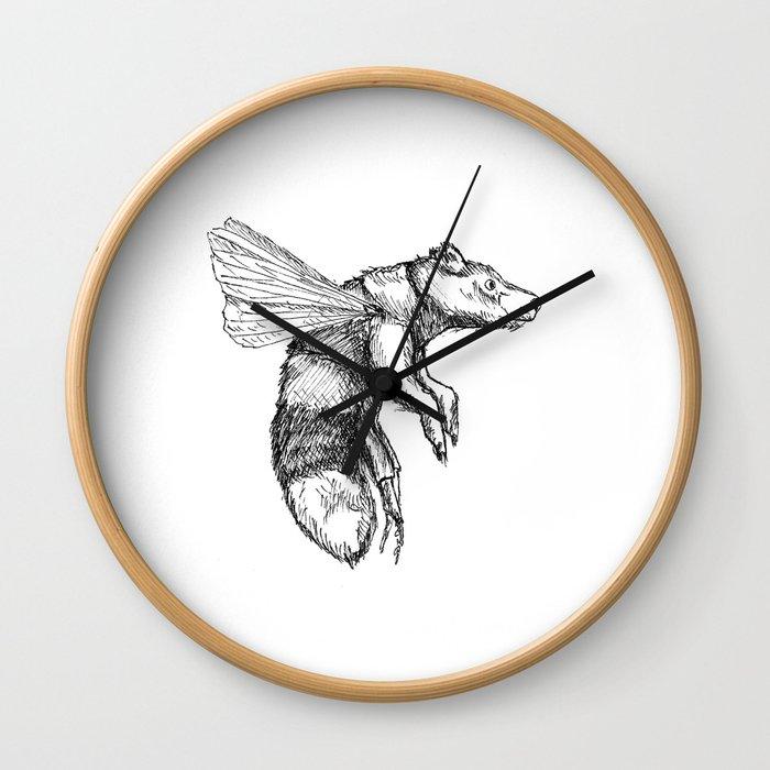 Bumblebear Wall Clock