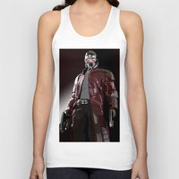 star lord Tank Tops featuring Star Lord Fan Art by Vito Fabrizio Brugnola