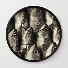 Fresh Fish Wall Clock
