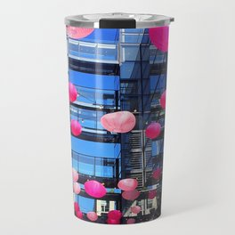 Pink Balloons Travel Mug