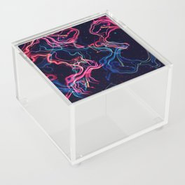 Moon Bleach Acrylic Box