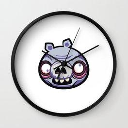 cochon vilan Wall Clock