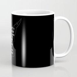 Peter Pan Quote - Grown Up Things Coffee Mug