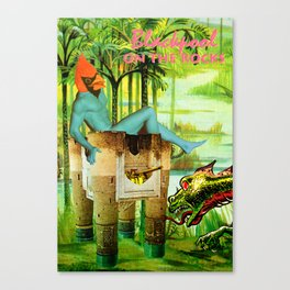 Vote for Donkey and Elephant! Now! Canvas Print