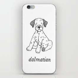 Dog Breeds: Dalmation iPhone Skin