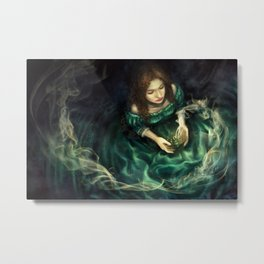Quill Cover Metal Print