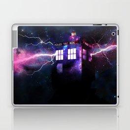 The Tardis Laptop & iPad Skin