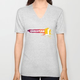 Creative Christian Present Idea Unisex V-Neck