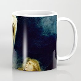 Eugene Delacroix - Saint Mary Magdalene At The Foot Of The Cross - Digital Remastered Edition Coffee Mug