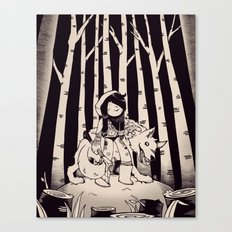 Lil Red Canvas Print