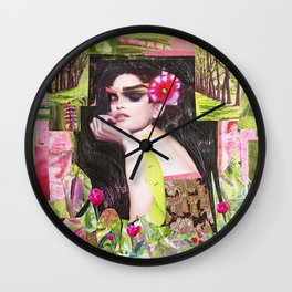 Summer awakening Wall Clock